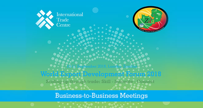 World Export Development Forum 2018