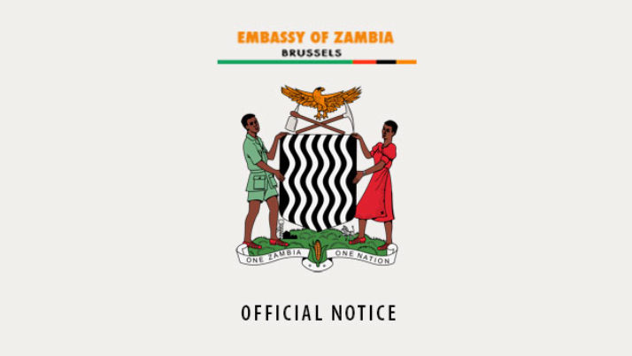 EMBASSY CLOSURE – PUBLIC HOLIDAY !