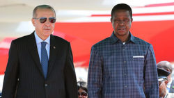 President Lungu hosts Turkish president