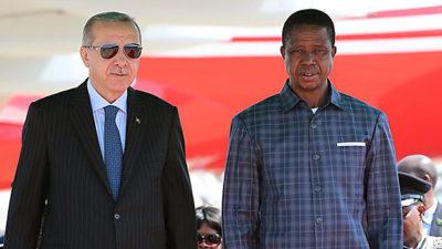 President Lungu hosts Turkish president