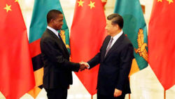 President Edgar Chagwa Lungu has met with his Chinese counterpart, President Xi Jinping in Beijing