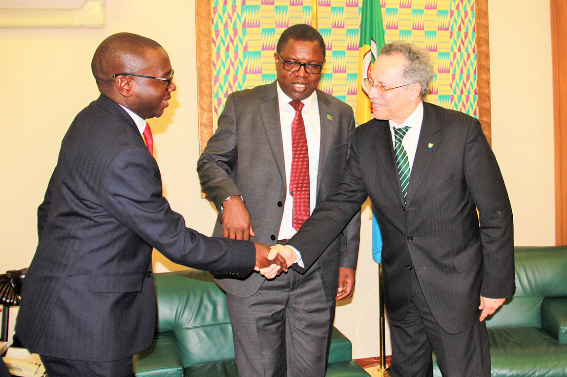 AFRICAN, CARIBBEAN AND PACIFIC GROUP (ACP) PRAISES GOVERNMENT'S EFFORT AND COMMITMENT TO THE MINING INDUSTRY