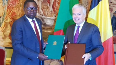 FOREIGN AFFAIRS MINISTER SIGNS MOU ON BILATERAL RELATIONS AND COOPERATION WITH THE BELGIAN GOVERNMENT