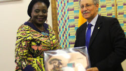 AMBASSADOR PROF. ESTHER MUNALULA NKANDU CALLS ON ACP SECRETARY GENERAL