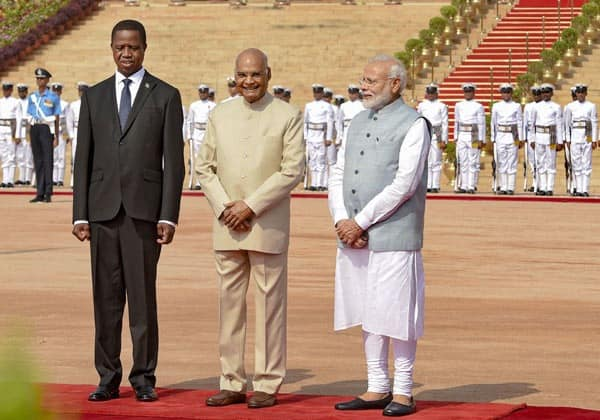 JOINT STATEMENT ON THE OCCASION OF THE STATE VISIT TO INDIA BY H.E. MR. EDGAR CHAGWA LUNGU,  PRESIDENT OF THE REPUBLIC OF ZAMBIA FROM 20th– 22nd AUGUST, 2019