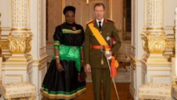 AMBASSADOR NKANDU EXPLAINS ZAMBIA'S ECONOMIC TRANSFORMATION AGENDA TO GRAND DUKE OF LUXEMBOURG