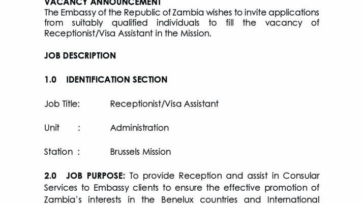 The Zambia Embassy in Brussels presents its first edition of the newsletter  – The Diplomatic Bulletin