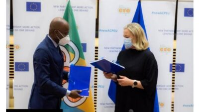 EUROPEAN UNION – EU AND ORGANISATION OF AFRICAN, PACIFIC AND CARRIBEAN STATES – OACPS INITIALLED THE NEW PARTNERSHIP AGREEMENT